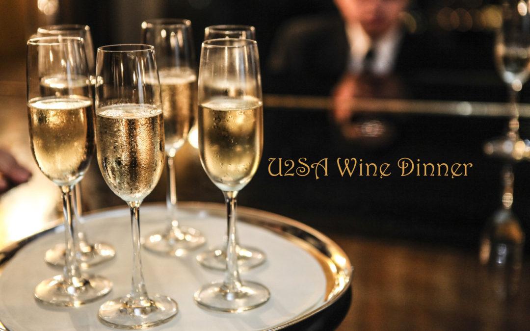 Wine Dinner for U2SA